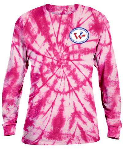 Tie-Dye Pink Long Sleeve