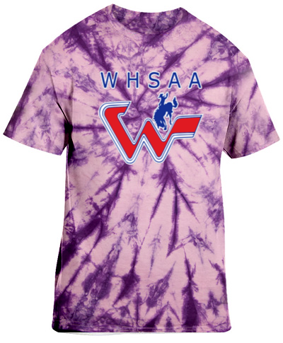 Tie-Dye Purple Short Sleeve