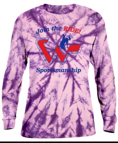 Tie-Dye Purple Long Sleeve