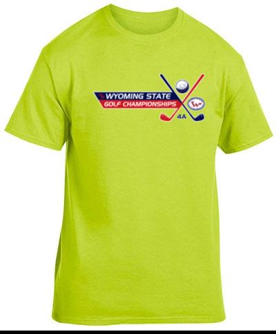 Neon Color Short Sleeve T-Shirt