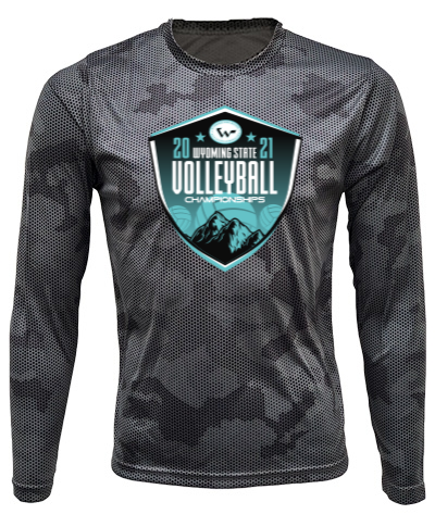 Gray/Black Camo Long Sleeve