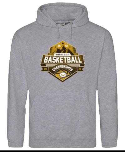 Hooded Sweatshirt 50/50 Heavy Blend Ash Gray