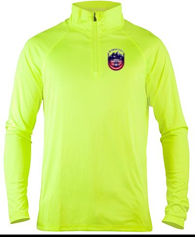 Quarter-Zip Lightweight Pullover LS