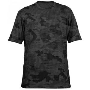 Gray/Black Camo Short Sleeve