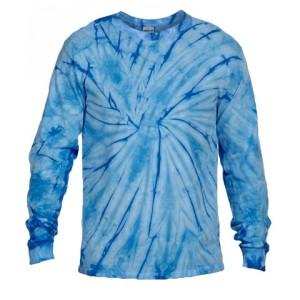 Tie-Dye Blue Long Sleeve