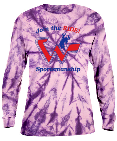 Tie-Dye Purple Long Sleeve