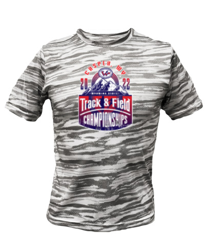 Light Gray Camo Short Sleeve